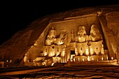 Abu Simbel temple of Ramesses II, Aswan, Egypt