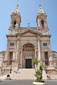 Basilica Minori Dei Santi Cosma E Damiano, Alberobello, province of Bari, in the Puglia region, Italy