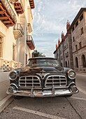 1956 Chrysler Imperial parked on the street  St  Augustine, FL, USA