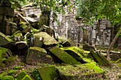 Preah Khan Sacred Sword, Angkor, UNESCO World Heritage Site, Cambodia, Indochina, Southeast Asia, Asia