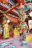 Thailand, Bangkok, Chinese Temple