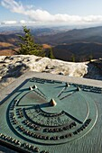 Devils Courthouse Overlook - Blue Ridge Parkway, near Asheville, North Carolina USA