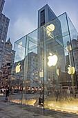 Apple Store 5th Avenue, Manhattan, New York City, USA