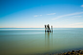 Seascape With Old Dock