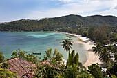 Haad Yao Beach oder Long Beach, Koh Phangan Island, Surat Thani Province, Thailand, Southeast Asia