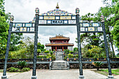 Tomb of the emperor Minh Mang, near the Imperial city of Hue, Vietnam, Asia