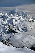 Fairweather Mountain Range Glacier Bay NP SE AK