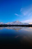 Mt McKinley Reflecting in Pond Denali NP AK IN Summer