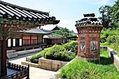 Gyeongbok palace, Amisanchimney