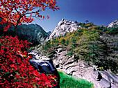 Geumgang Mountains, guryongstream