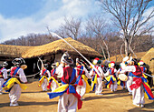 instrumental music of peasants, Korean Folk Village