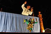 Puppets play, Bagan, Myanmar, Burma, Asia