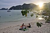 Ton Sai Bay, Ko Phi Phi, Andaman Sea, Thailand, Asia