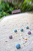 Boule game at Hotel Resort, Islamorada, Florida Keys, Florida, USA