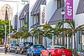 Shops in the Design District, Miami, Florida, USA