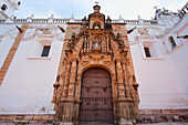 Lateral entrance to the Metropolitan Cathedral, Sucre, Chuquisaca Department, Bolivia