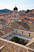 Sigurata Church from the City Walls, Dubrovnik, Dubrovnik-Neretva, Croatia