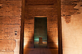 Naos in the Sanctuary of the Temple of Isis, Philae, Aswan, Egypt