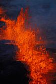 Hawaii, Big Island, Kilauea Volcano, East Rift Zone eruption