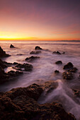 Quincy, Dein, Amazing, Breathtaking, California, Cloudy, Coast, Coastal, Coastline, Dark, Dramatic, Evening, Fantasy, Foggy, Glisten, Golden, Long Exposure, Malibu, Mist, Misty, Nightfall, Northern America Art, Ocean, Orange, Paradise, Peace, Peaceful, Pi