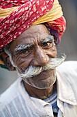 'Portrait Of Man Smiling At Camera; Jodhpur, India'