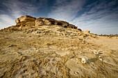 'Tombs In Siwa Oasis, Siwa, Egypt, Africa'