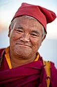 Buddhist Monk In Nepal