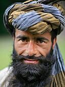 Portrait Of Bearded Man In Turban