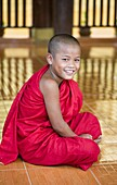 'Union Of Myanmar (Burma); A Buddhist Boy'