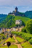 Germany , Mosental , Mosel Valley , Cochem City , Cochem Castle