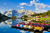 Italy ,Dolomite Alps , Missurina Lake