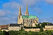 France , Chartres City , Chartres  cathedral (W.H.)