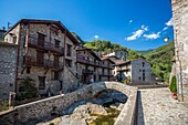 Spain , Catalonia ,Girona Province, Beget City