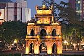 Vietnam,Hanoi,Hoan Kiem Lake,Turtle Pagoda
