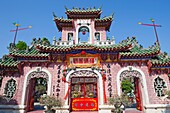 Vietnam,Hoi An,Phuc Kien Assembly Hall,Entrance Gate