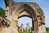 England,Somerset,Glastonbury,Glastonbury Abbey,The Lady Chapel