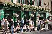England, London, Southwark, Borough Market, The Market Porter Pub