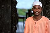Africa, Zanzibar, portrait of a man
