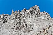 Rocky mountain near Livigno, Lombardy, Italy
