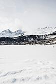 St. Moritz, Engadine valley, Upper Engadin, Canton of Graubuenden, Switzerland