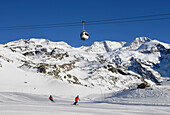 Monte Rosa ski resort, Aosta Valley, Italy