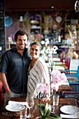 Goncalo Alves und Marta Fonseca, Besitzer des Hotel Areias do Seixo, Povoa de Penafirme, A-dos-Cunhados, Costa de Prata, Portugal