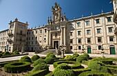 SAN MARTINO PINARIO  CONVENT GELMIREZ PALACE PLAZA IMMACULADA OLD CITY SANTIAGO DE COMPOSTELA GALICIA SPAIN
