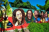 Bob Marley Museum, Kingston, Jamaica, West Indies, Caribbean, Central America.