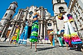 San Cristobal Cathedral  Havana Vieja District, Havana, Cuba.