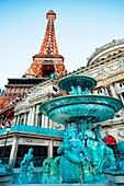 Paris Hotel on The Strip Las Vegas Boulevard, Las Vegas, Nevada, USA.