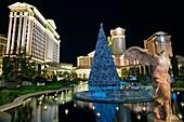 Las Vegas Boulevard, The Strip, Las Vegas, Nevada, USA.