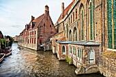 Memling Museum in the St  John´s Hospital complex, Brugge, Bruges, Flanders, Belgium.