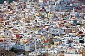 The medina, Tetouan  Rif region, Morocco.