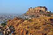 Meherangarh Fort  Jodhpur  Rajasthan  India.